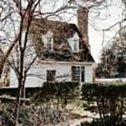 Spring In Colonial Williamsburg Art Print