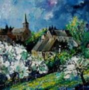 Spring In Fays Famenne Art Print