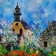 Spring In Foy Notre Dame Dinant Art Print