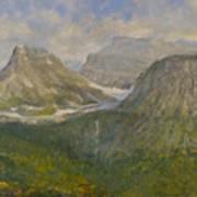Spring In Glacier National Park Art Print