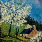 Spring In Hierges  Art Print