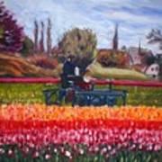 Spring In Holland3 Art Print