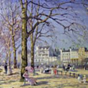 Spring In Hyde Park Art Print