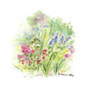 Spring In My Garden Art Print