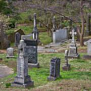 Spring In Oak Hill Cemetery #4 Art Print