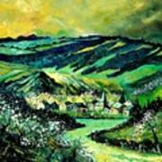 Spring In Tha Ardennes Art Print