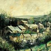 Spring In The Ardennes Belgium Art Print