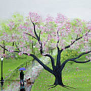Spring In The Park Art Print