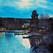 Spring Lake Nocturn Art Print