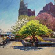 Spring Morning On John Finley Walk Art Print