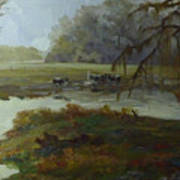 Spring Pasture Art Print