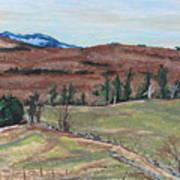 Spring Piopolis Rd Val Racine Quebec Canada Art Print