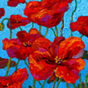 Spring Poppies Art Print