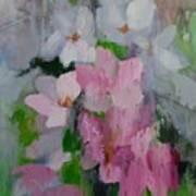 Spring Rain Oil Painting Art Print
