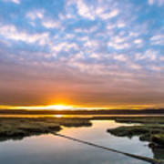 Spring Sunrise On Arcata Bay Art Print