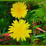 Spring Time Series Painting Art Print