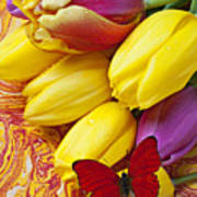 Spring Tulips Print by Garry Gay