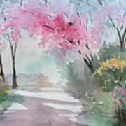 Spring Walk Art Print