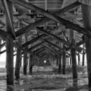 Springmaid Pier In Myrtle Beach South Carolina Art Print