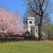 Springtime At The Botanical Garden Art Print