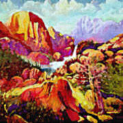 Springtime In The Southwest  Art Print