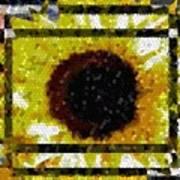 Springtime Mosaic Art Print