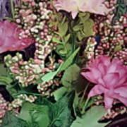 Springtime With Flowers Art Print
