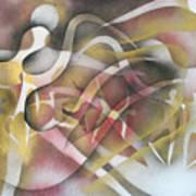 Sprite  Dancers Art Print
