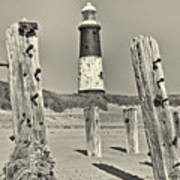 Spurn Lighthouse Art Print