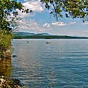 Squam Lake In New Hampshire   Art Print
