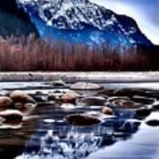 Squamish River Art Print