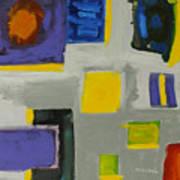 Squares Art Print by Katie OBrien - Printscapes