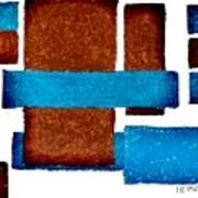 Squares Long And Short Art Print