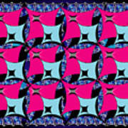 Squares10 Art Print