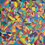 Squark And Lepton Fields Art Print