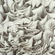 Squidmus Abstractus Art Print by Sean Imler