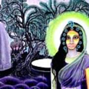 Sri Maan Nagari Art Print