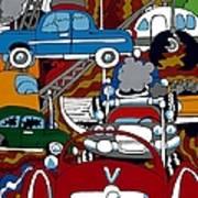 Ss Studebaker Art Print by Rojax Art