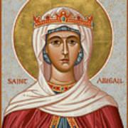 St. Abigail - Jcabi Art Print