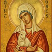 St. Agnes - Jcagn Art Print