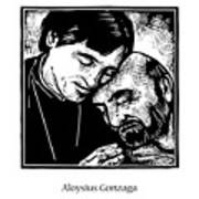 St. Aloysius Gonzaga - Jlalg Art Print