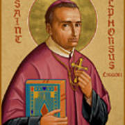 St. Alphonsus Liguori - Jcalp Art Print