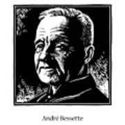 St. Andre Bessette - Jlanb Art Print