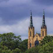 St Andrews Catholic Church Roanoke Virginia Art Print