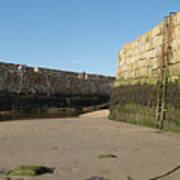 St Andrews Pier At Low Tide Art Print