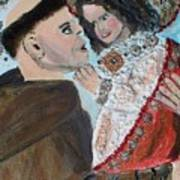 St. Anthony In Amazement Art Print