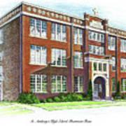 St. Anthony's High School Art Print