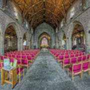 St Asaph Cathedral Art Print