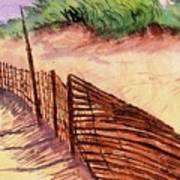 St. Augustine Beach Art Print