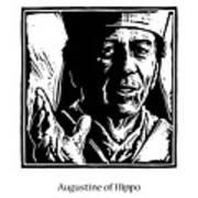 St. Augustine - Jlaug Art Print
